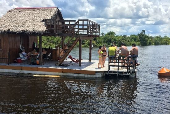 Floating Balsa-Bar Full Day